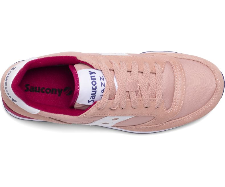 Saucony Originals Jazz O' / Rosa - Ideal Moda