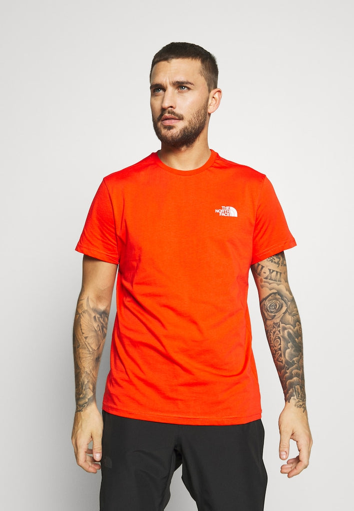T-Shirt uomo simple dome / Rosso - Ideal Moda