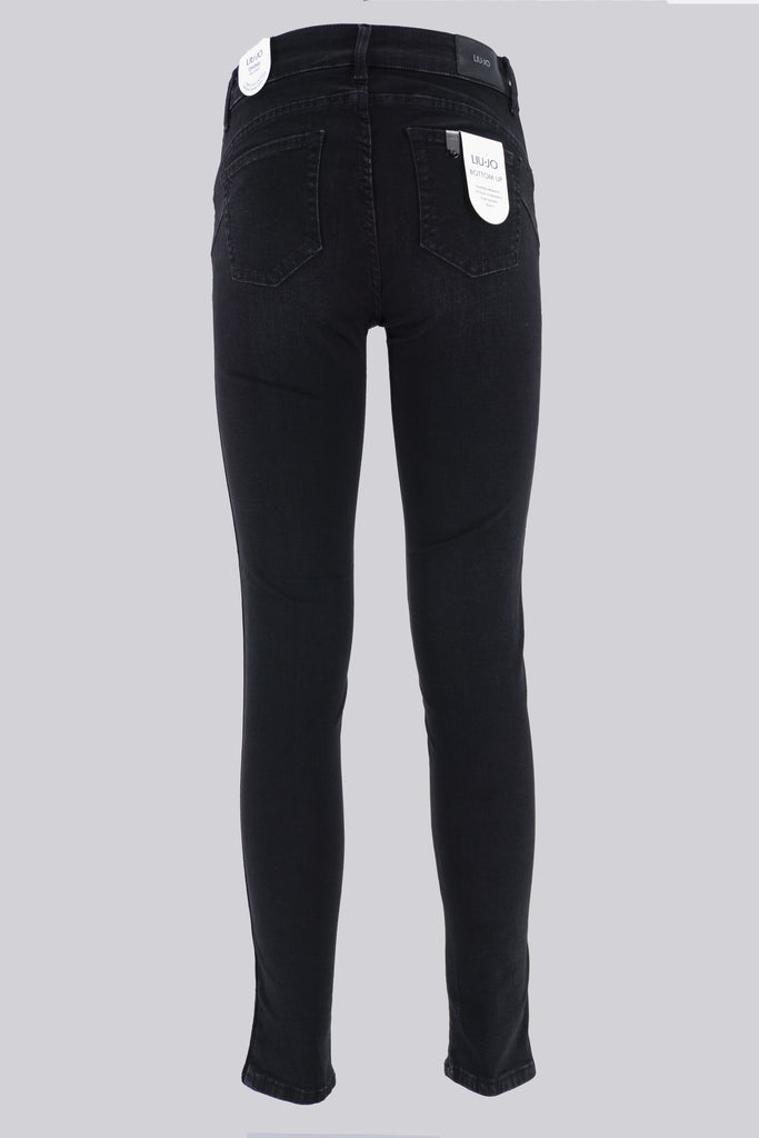 Jeans Nero Bottom Up / Nero