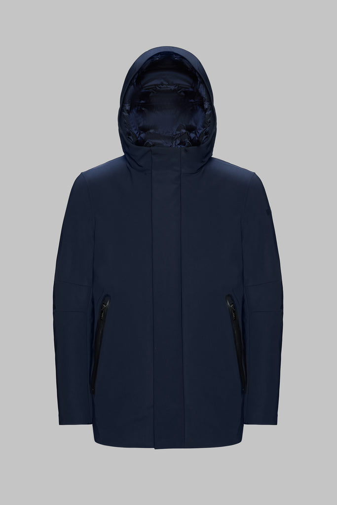 W19005-WINTER PARKA MDM / Blu