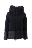 Winter Light Hybrid Hood Lady Fur / Nero