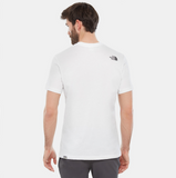 T-Shirt uomo walls are for climbing / Bianco