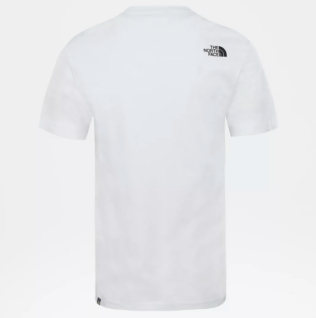 T-Shirt uomo walls are for climbing / Bianco - Ideal Moda