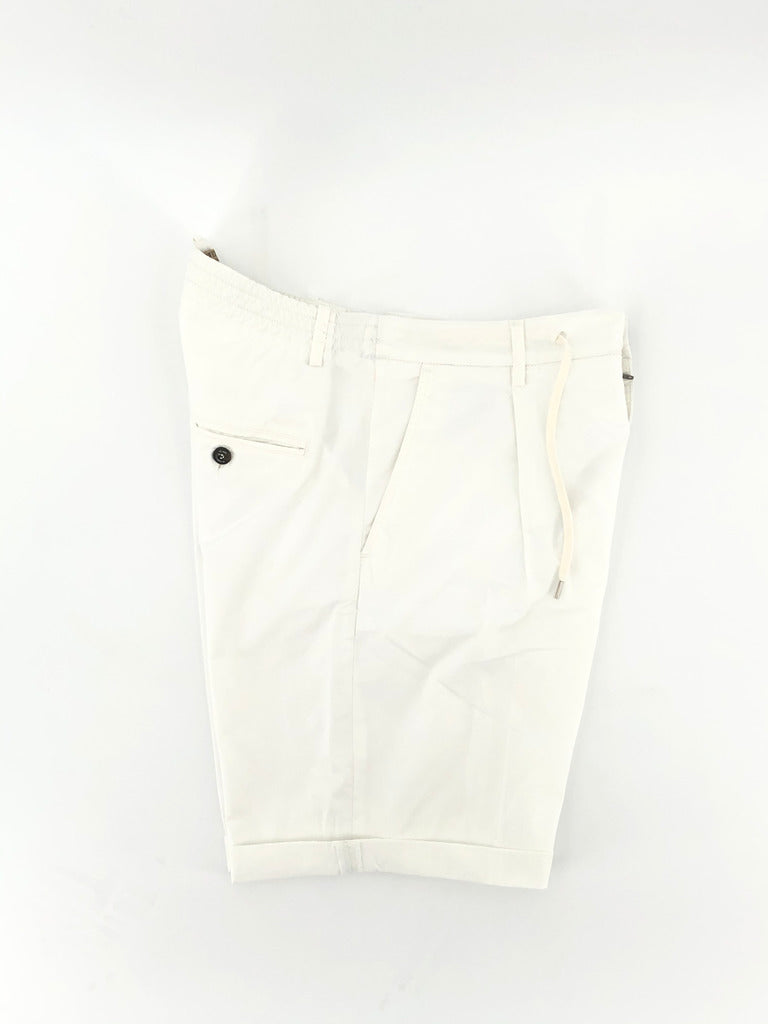 Pantaloncino con coulisse / Bianco