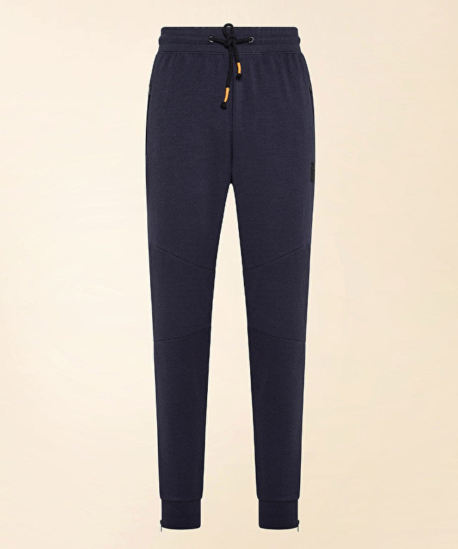 Pantalone jogging in cotone / Blu - Ideal Moda