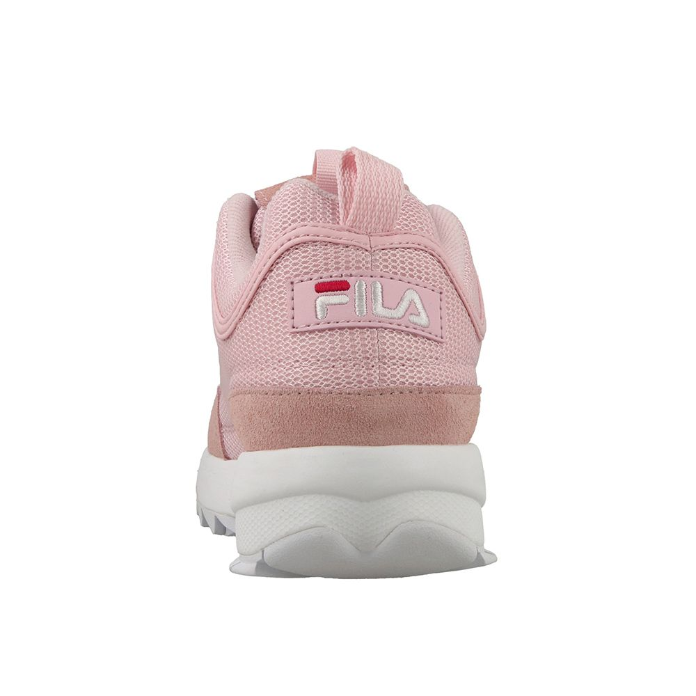 Fila Disruptor Mesh Low / Rosa - Ideal Moda