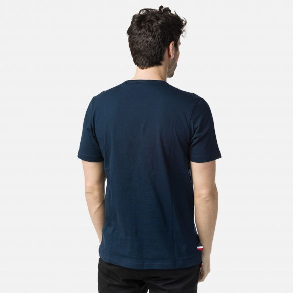 T-Shirt uomo Transfer Classic / Blu - Ideal Moda