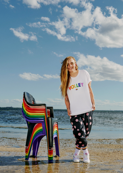 Celebrating its fourth consecutive year, Volley's limited-edition 'Wear It With Pride' collection is about standing alongside the rainbow community to celebrate equality and inclusivity