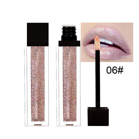 Waterproof Glitter Lipstic