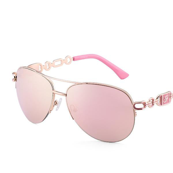 Women's Classic Anti-reflective Pilot Sunglasses