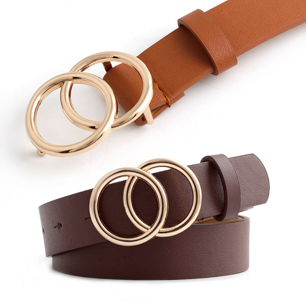 Double O-Ring Buckle Belt