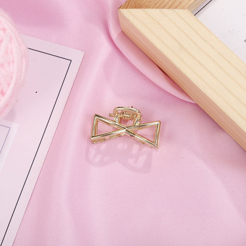 6Pcs Gold Hair Claw Clips