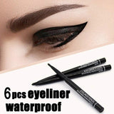 6 Color Waterproof Eyeliner Pencil