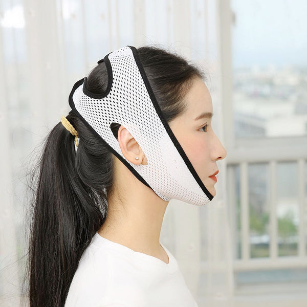1pc Contrast Binding Facial Slimming Bandage