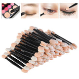 50pcs Double-Headed Eyeshadow Brushes
