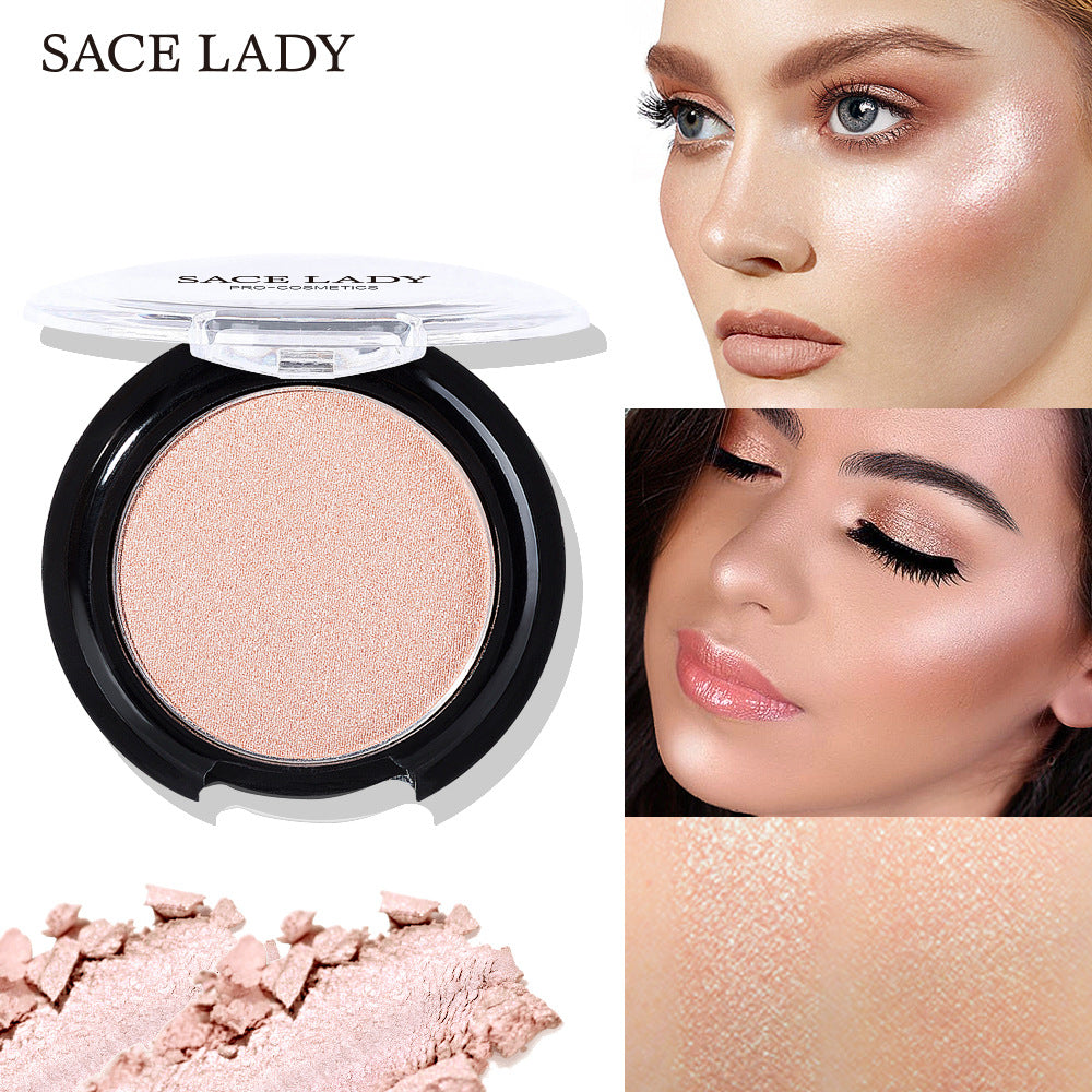 1 PC Shining Blush Smooth Facial Contour