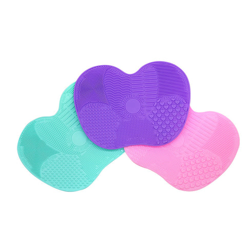 1pc Silicone Makeup Cleaning & Scrub Brush