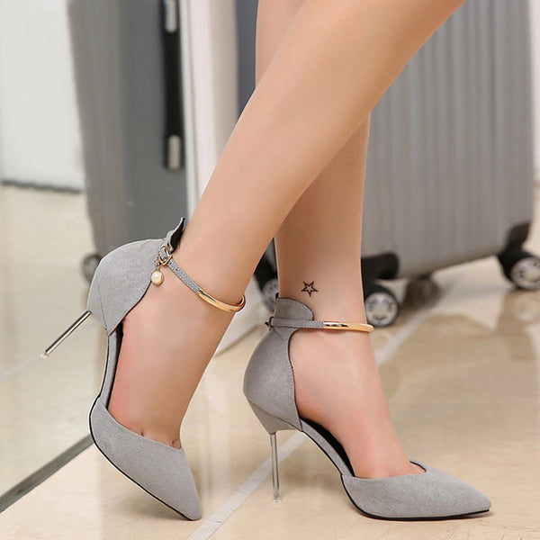 Breathable Large Size High Heels Shoes