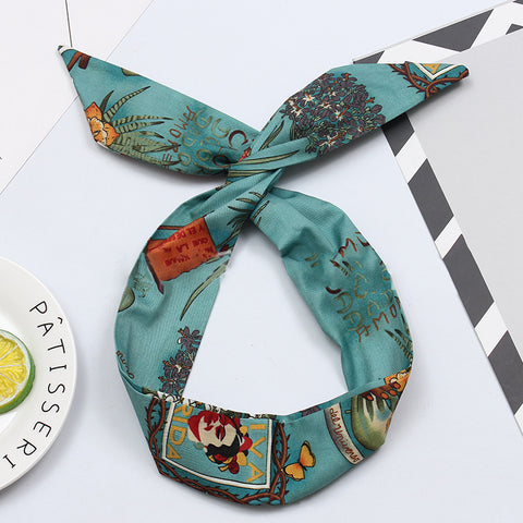 Retro High Quality Printed Wire Hair Band Accessories