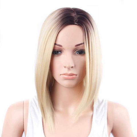 Wigs Short Sets of Straight Silk Hair