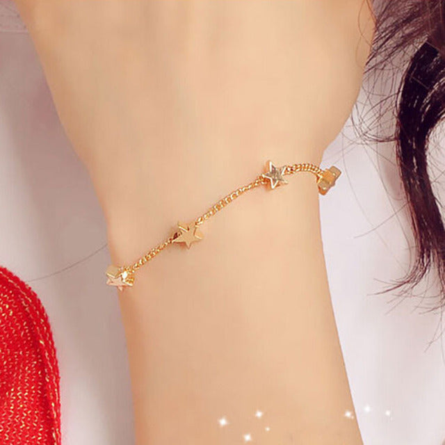 Heart Shape Love Bracelet for Womens