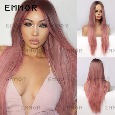 Natural Long Straight Wig