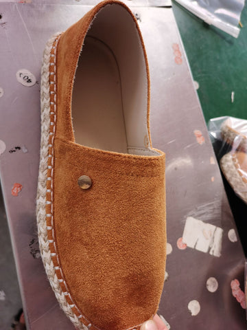 Comfortable Canvas Flat Slip On Shoes