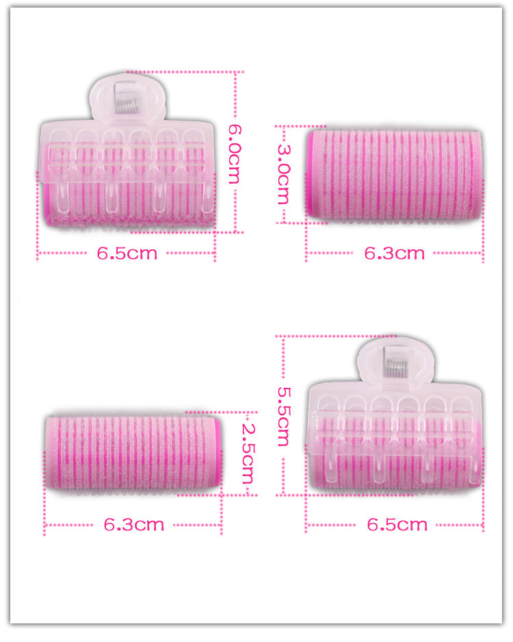 Bangs Hair Curlers Plastic Self-adhesive Magic Volume Hair Curling Tools
