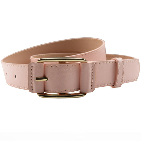 Ladies Casual Simple Pin Buckle Wild Belt