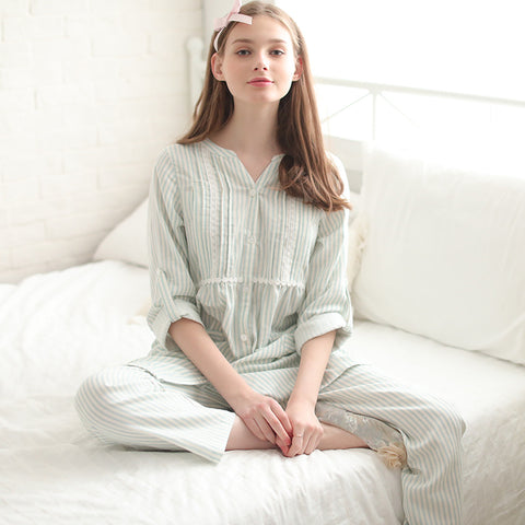 Cotton Maternity Nursing Sleepwear for Girl