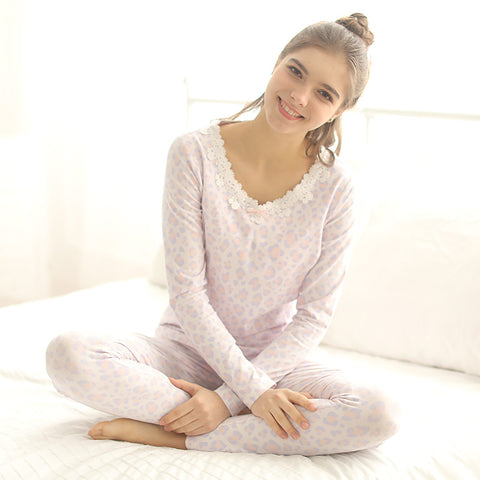 Knitted Cotton Breastfeeding Suit