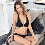 Sexy Lace Front Comfortable Breathable Buckle Bra