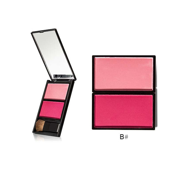 Clear Rosy Long-lasting Three Color Blush