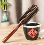 Lotus Wood Bristle Comb Stylist Special Curly Hair Comb Wood Comb