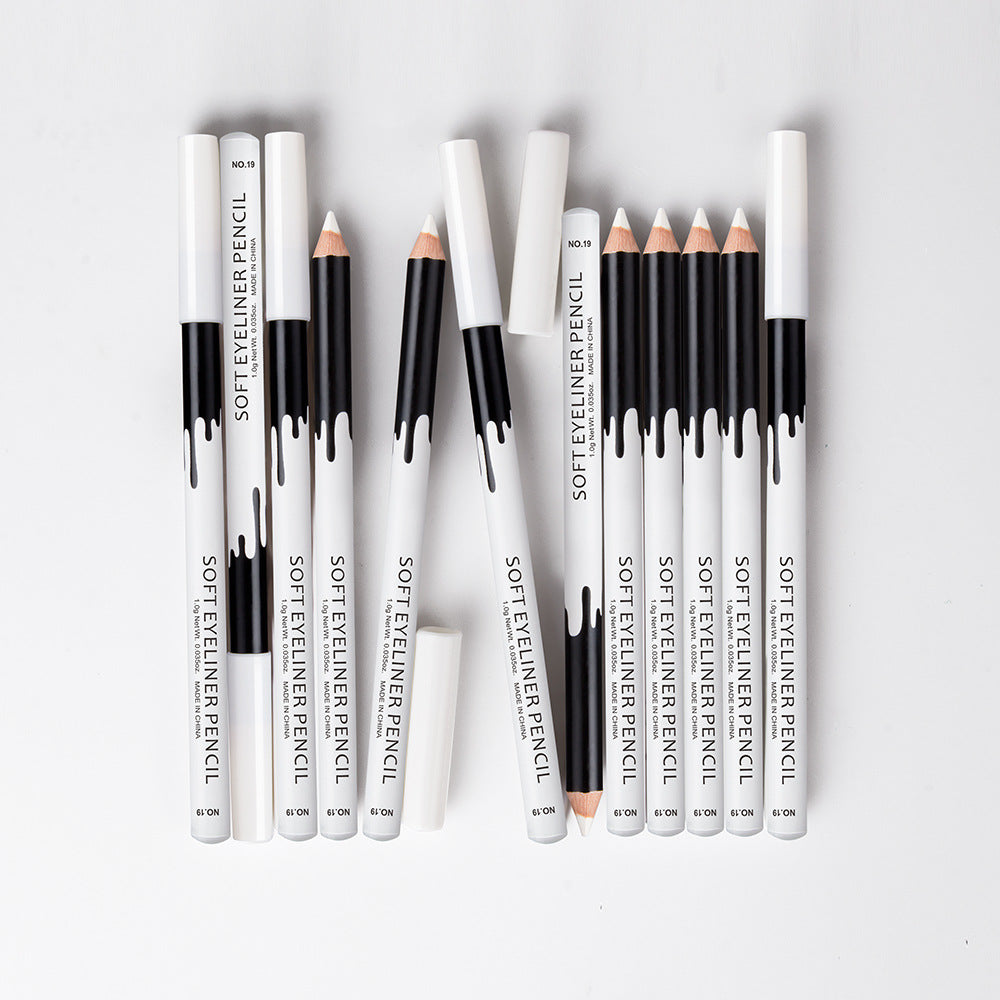 3 Pcs Waterproof White Eyeliner Pencil