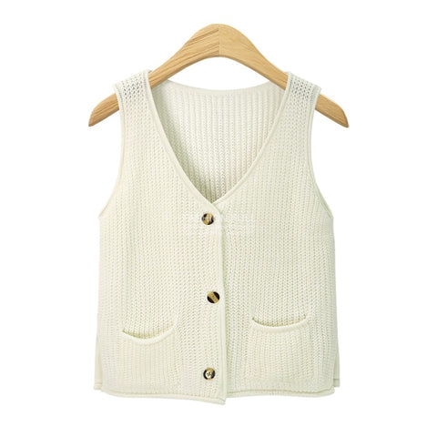 Women's Fashion V-neck Vest