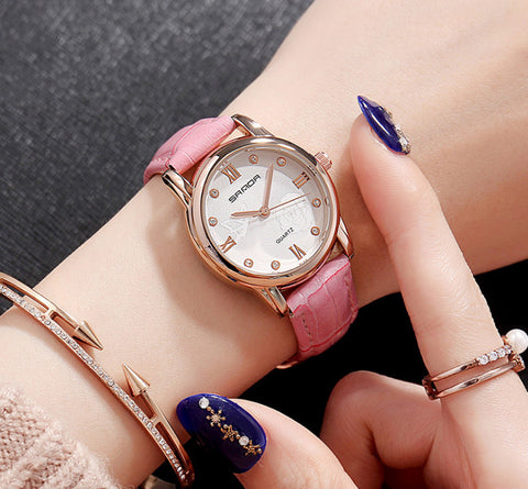 Women's Stainless Steel Waterproof Watches