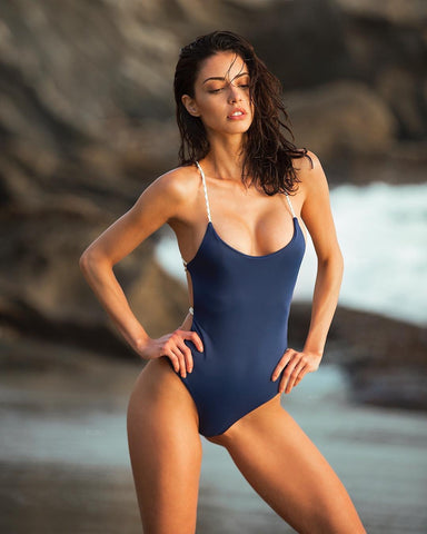 Backlace Sexy One-piece Swimsuit