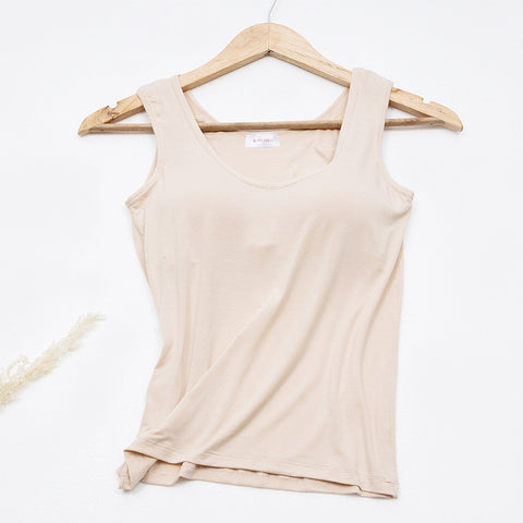 Women's  Chest Pad Bottoming Camisole