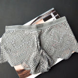 Women's Fan-shaped Sexy Lace Mid-rise Boxer Bottoms