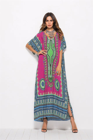 Printed Casual Fashion Dress