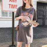 Pregnant Women Short Sleeve T-Shirt Dress