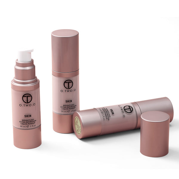 Rose Gold Moisturizing Nude Makeup Foundation