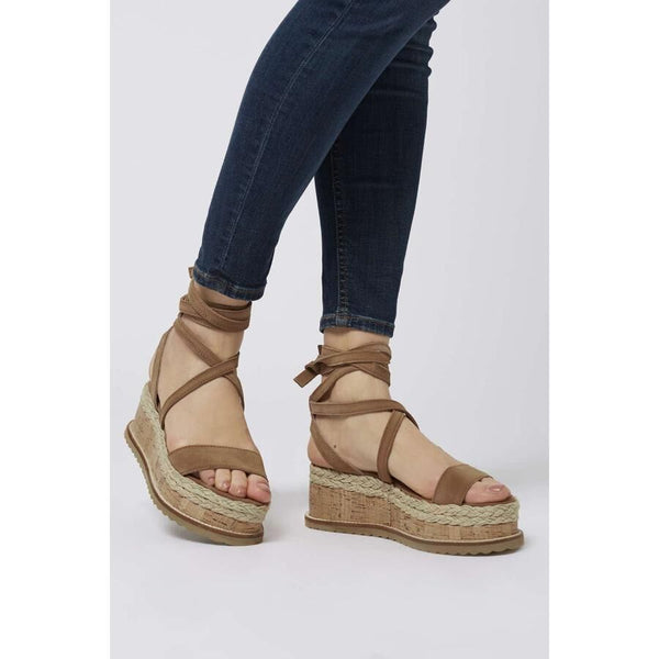 Hemp Rope Wedge Sandals