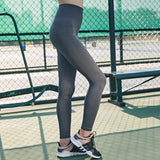 Outdoor Quick-drying High Waist Elastic Fitness Pants