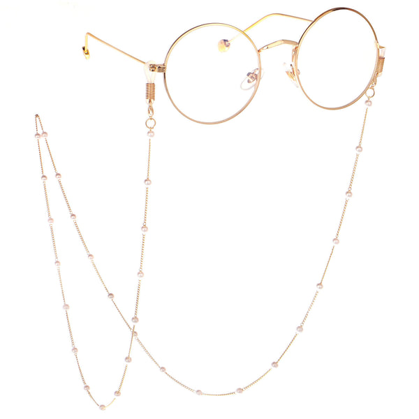 Pearl Rosary Glasses Chain