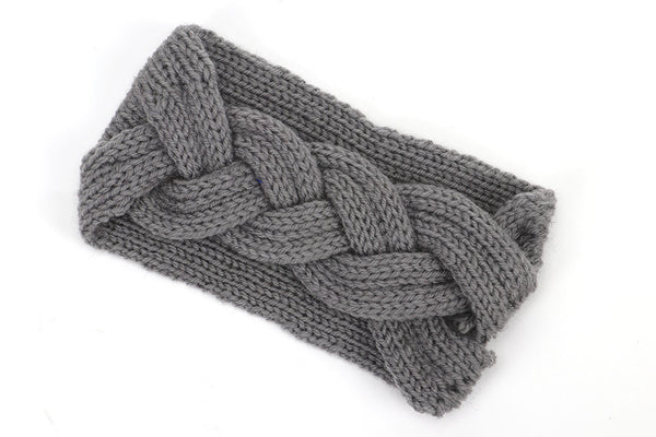 Women's Woven Wool Warm Headband