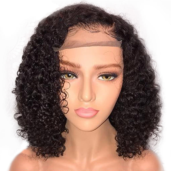 Lace Chemical Fiber Short Curly Hair Wig