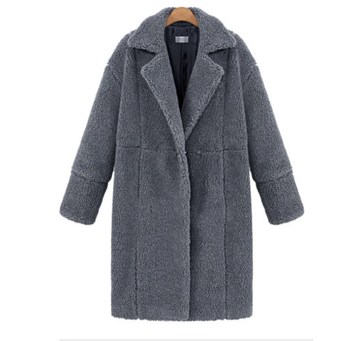 Women's Cashmere Long Sleeve Coat