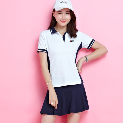 Polo Shirt Short-sleeved Sports Skirt